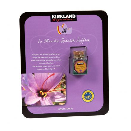 Kirkland Signature La Mancha Spanish Saffron Net Weight 1g
